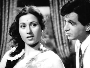 Madhubala and Dilip Kumar
