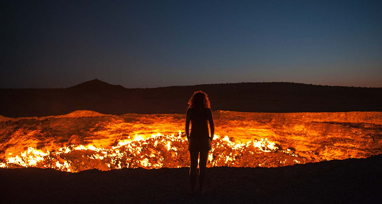 Door To Hell – karakum Desert Central Turkmenistan